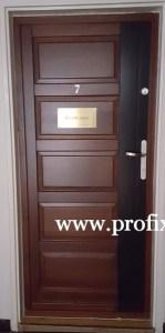 5 kazettás fa bejárati ajtó Miskolc