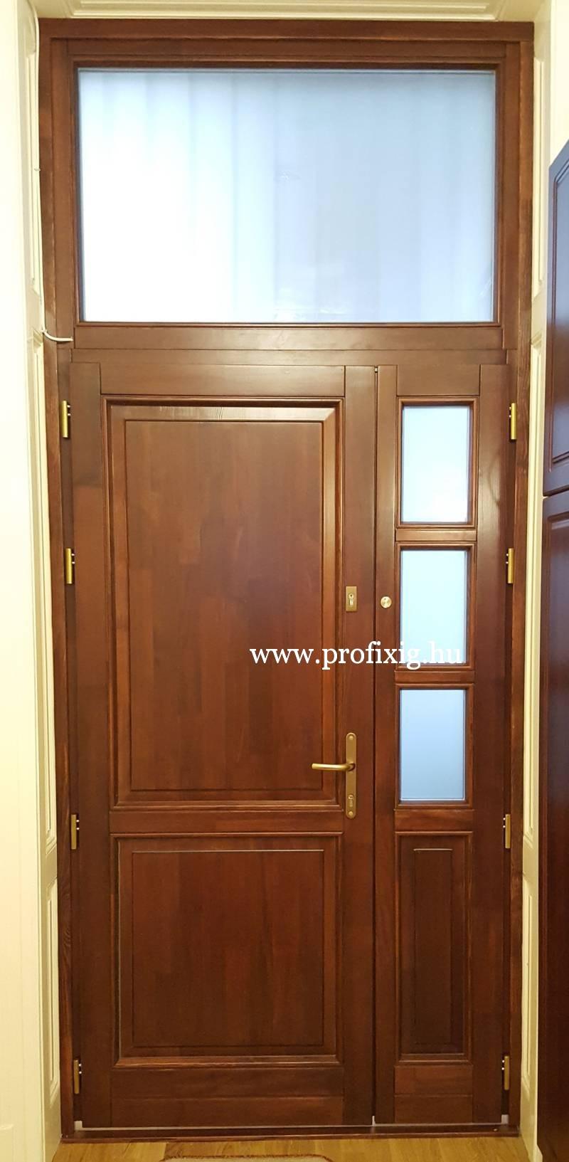Modern bejárati ajtó