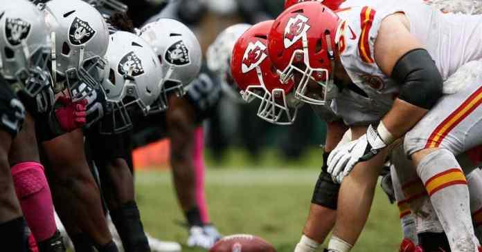 Kansas City Chiefs Oakland Raiders