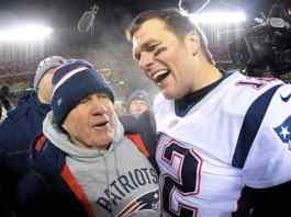 New England Patriots Tom Brady Bill Belichick NFL Odds