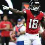 Wide Receiver Calvin Ridley offensive share metric