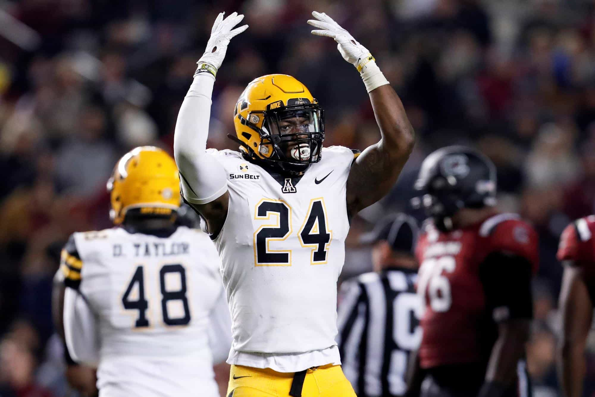 Akeem Davis-Gaither is one of the best-kept secrets at the 2020 Reese's Senior Bowl