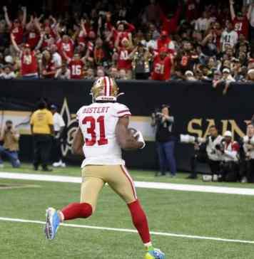 Raheem Mostert has won the 49ers running back battle
