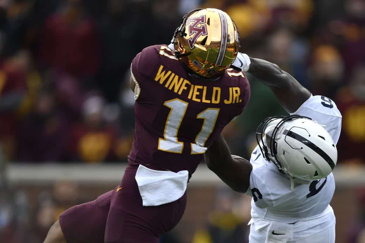 Antoine Winfield Jr.'s NFL draft stock poised to rise after 2019 breakout season