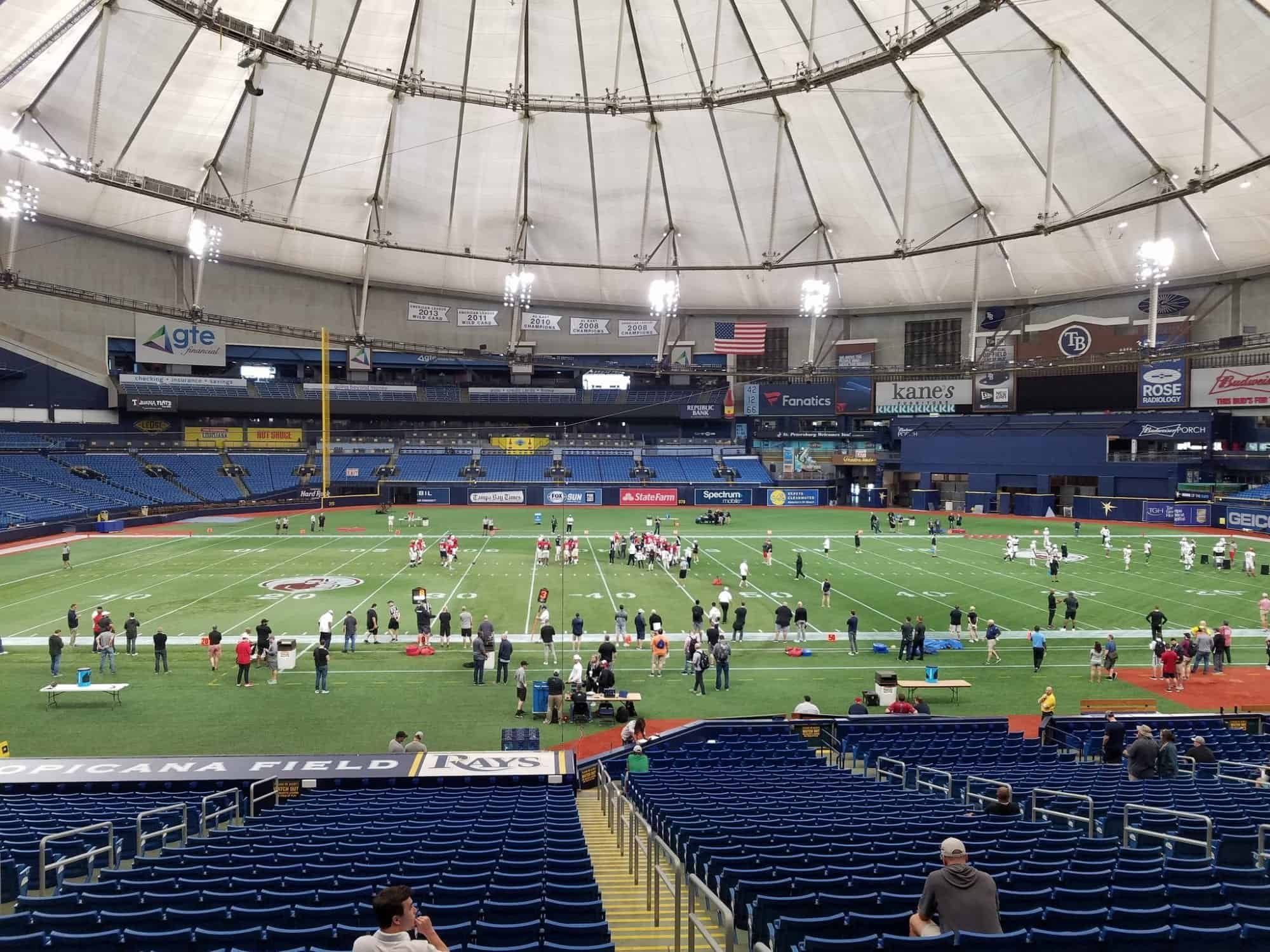Live from the East-West Shrine Game: Practice Day Two