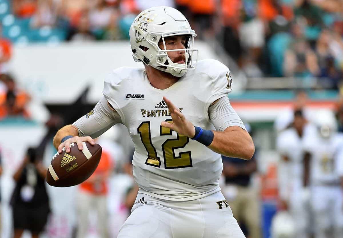 2020 NFL Draft prospect James Morgan is built for the spotlight