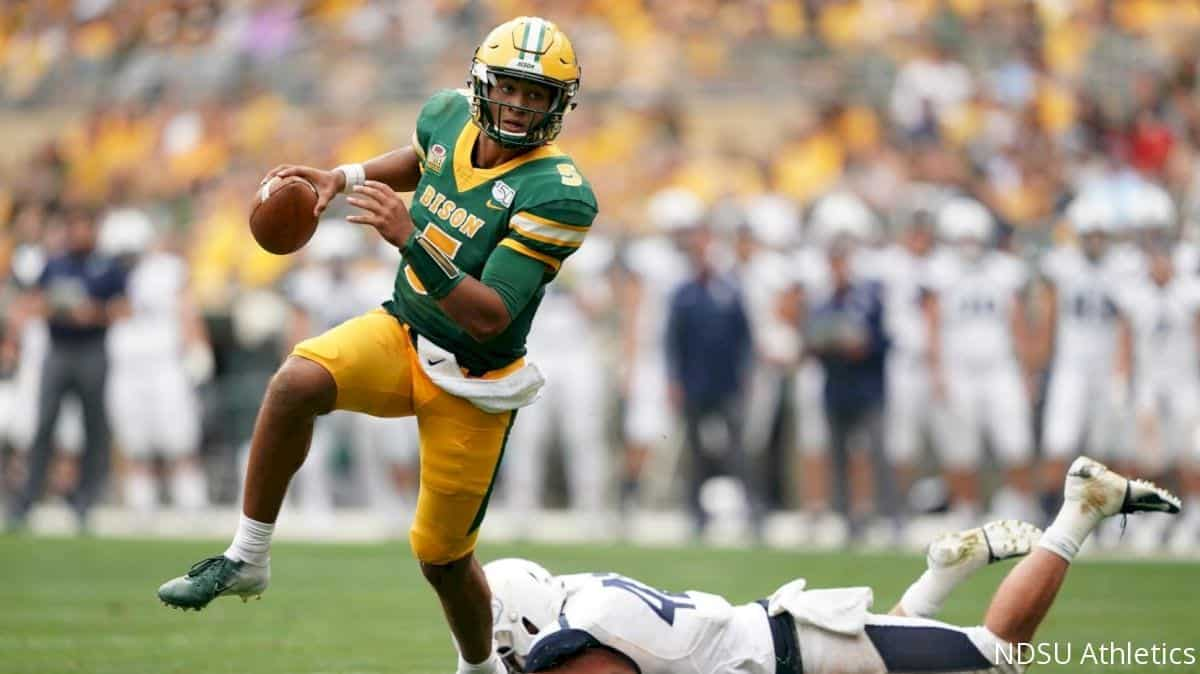 NDSU quarterback Trey Lance has first-round upside in 2021