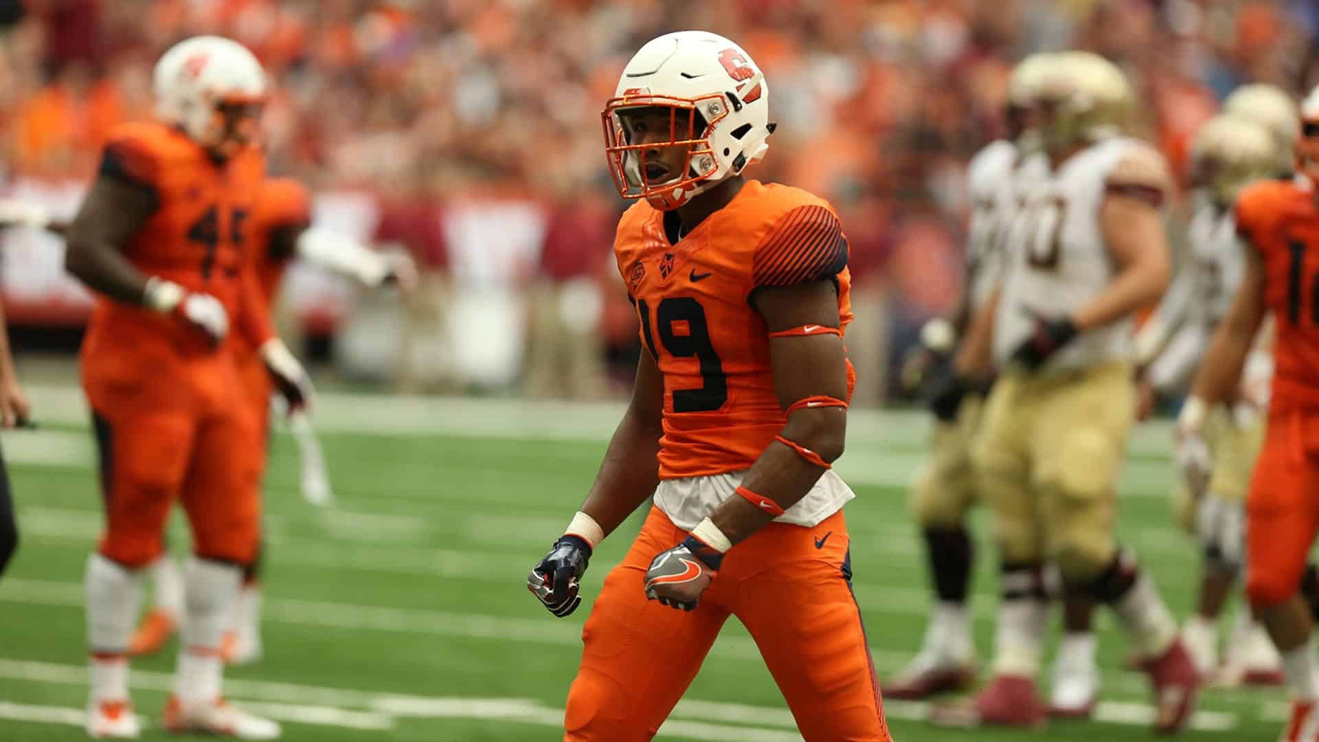 Syracuse safety Andre Cisco poised for college football stardom