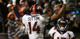 Which of the Broncos wide receivers could be on their way out of Denver?