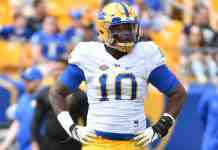 Pittsburgh DT Keyshon Camp remains steadfast amid setbacks
