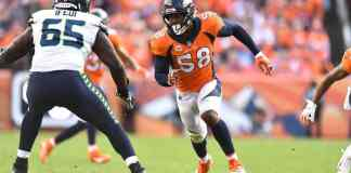 Broncos edge rusher Von Miller still playing at a high level