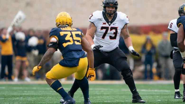 Teven Jenkins, OT, Oklahoma State - NFL Draft Player Profile | PFN