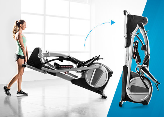 proform folding elliptical trainer benefits