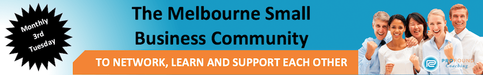 The Melbourne Small Business Community_Banner - Leadership Networking