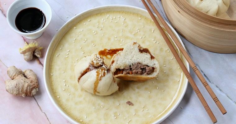Baozi di manzo – panini al vapore ripieni
