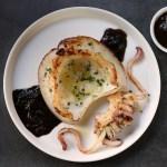 Seppie arrostite – con salsa al nero
