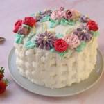 Torta alle fragole e mascarpone – in stile Flower Cake