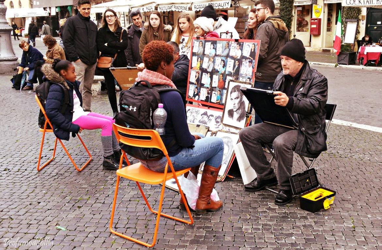 Artista di Piazza Navona