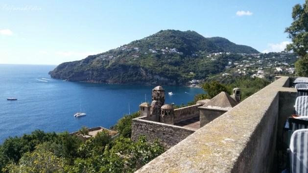 castello aragonese ischia ristorante