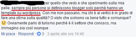 cos'è un blogger