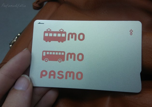 Giappone pasmo card