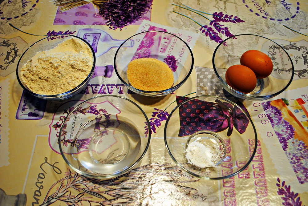 Gli ingredienti dei dorayaki