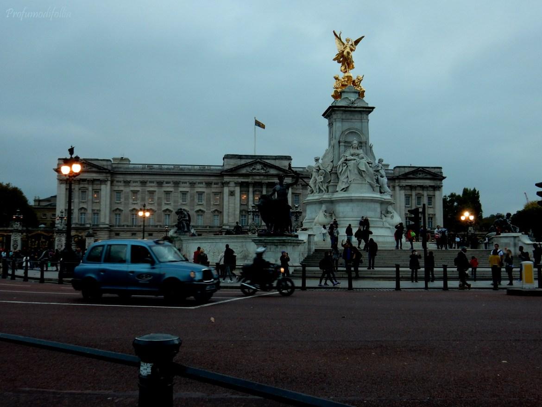 Buckingham Palace diario di viaggio Londra