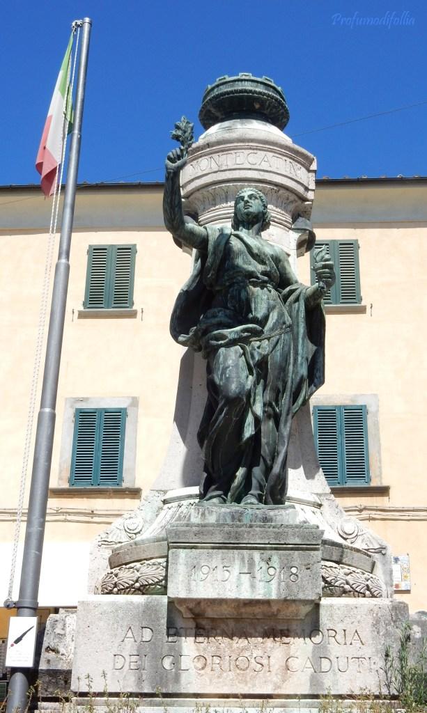 Monumento ai caduti, sempre a Montecatini Alto
