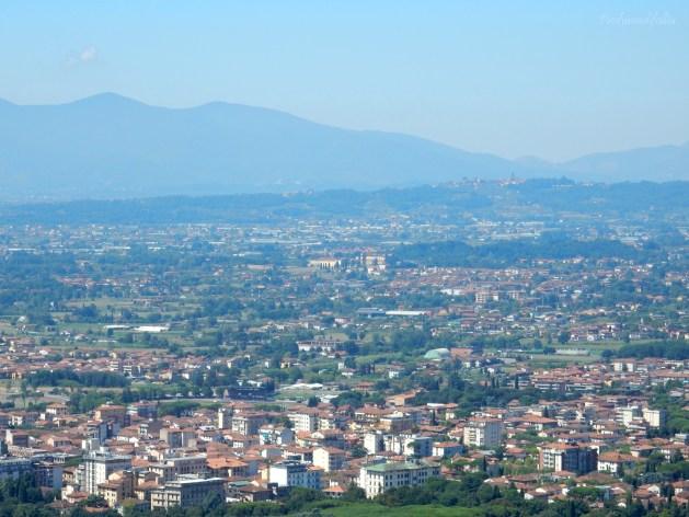 Panorama dalla stazione a monte, Montecatini Alto