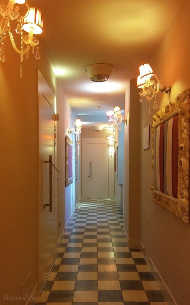 Il corridoio del terzo piano: troooppo bello!