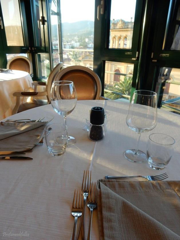 Hotel Columbia: ristorante panoramico