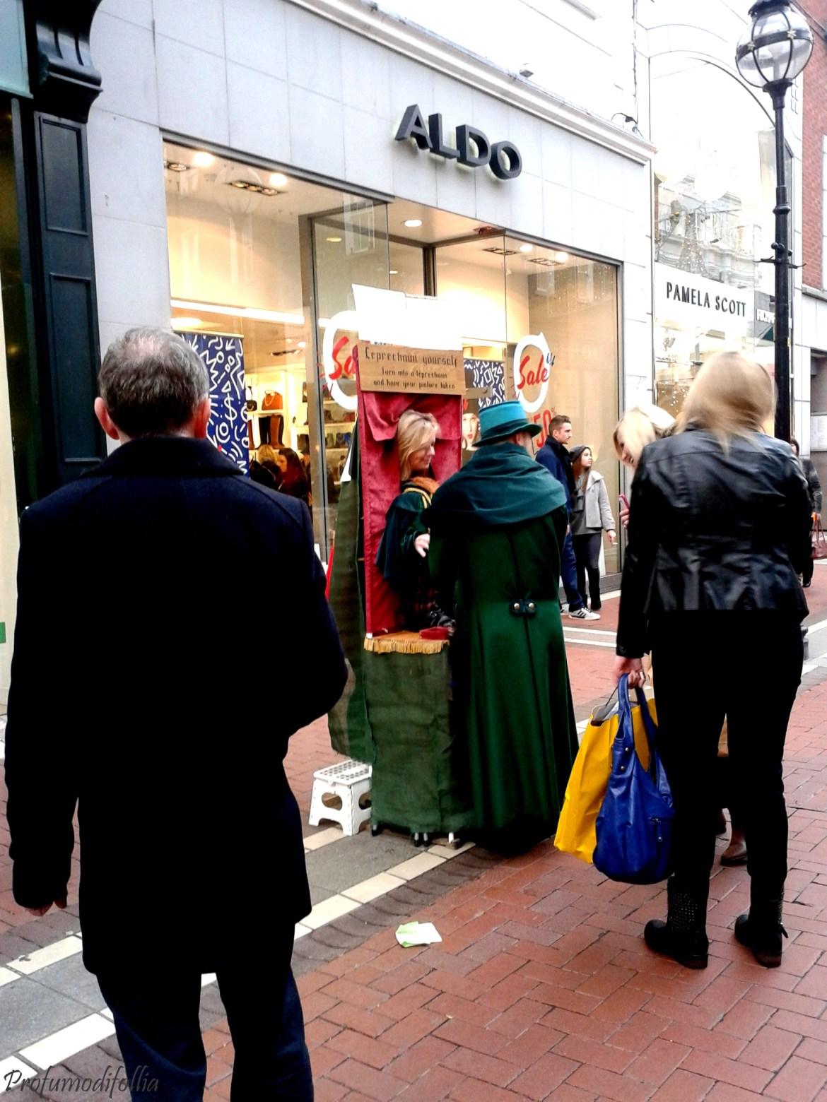 Leprechaun a Grafton Street