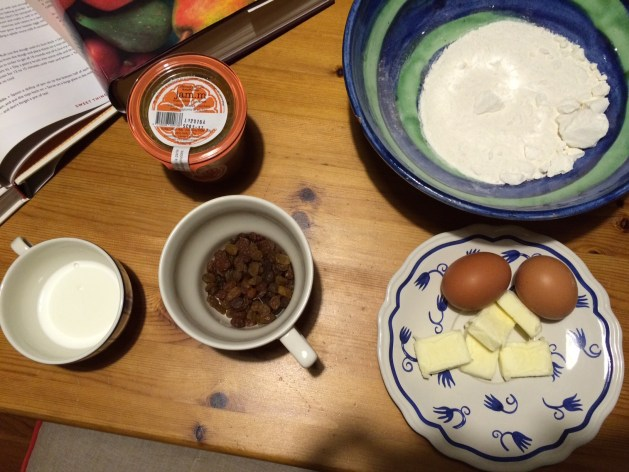 Ricetta degli scones: ingredienti