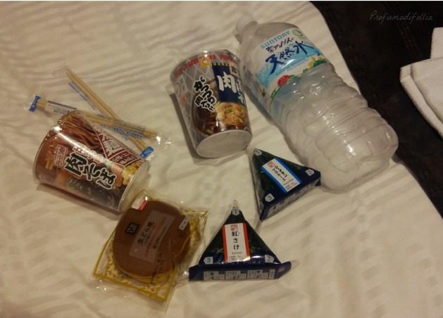 diario di viaggio Giappone cena giapponese