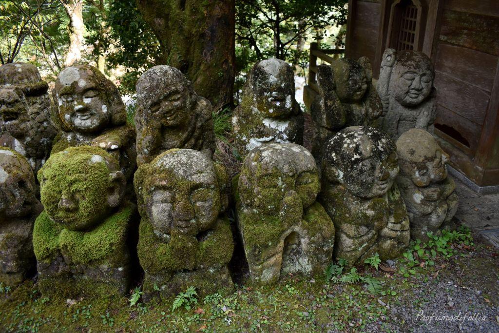 Visita ad Arashiyama: un gruppo di rakan del tempio Otagi Nenbutsu-ji