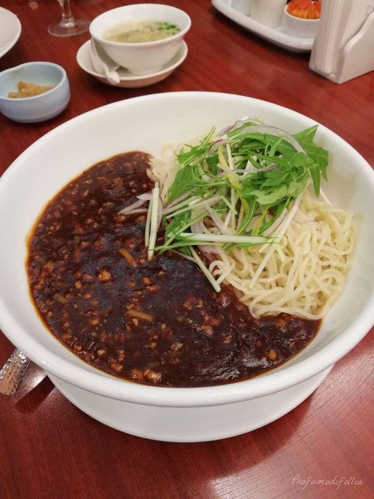Visita ad Arashiyama: piatto di ramen con carne cinese