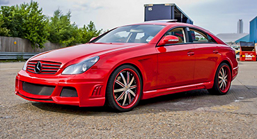 Mercedes CLS 350 Fully Modified