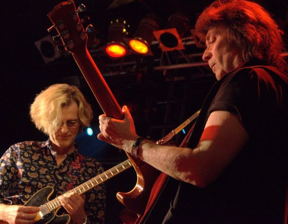 Roine Stold and Steve Hackett
