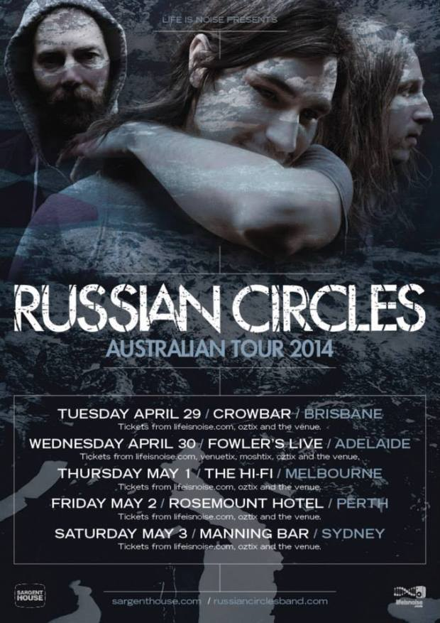 Russian Circles tour poster