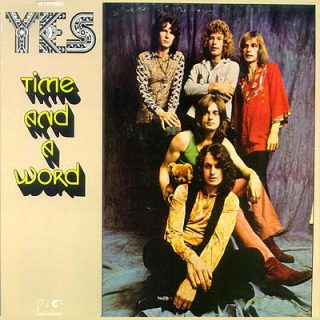 Yes - Time and a Word (US cover)