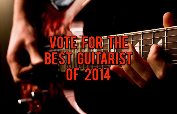 Vote for the best guitarist of 2014