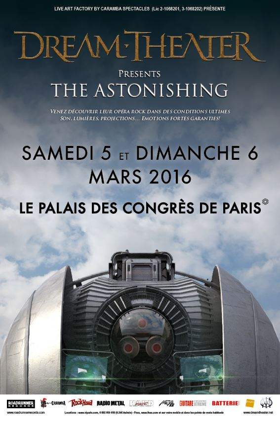 Dream Theater - The Astonishing poster