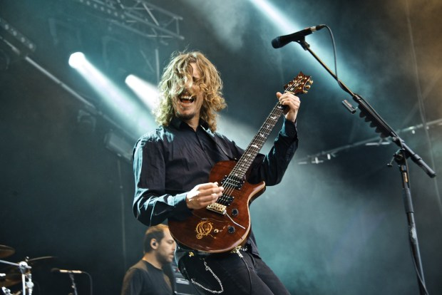 Mikael Åkerfeldt (photo from the Book of Opeth, credits: Christer Lorichs)