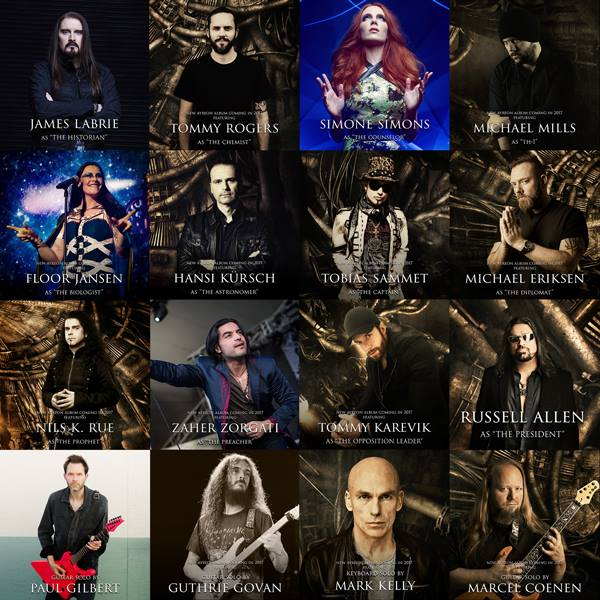 Ayreon - The Source cast