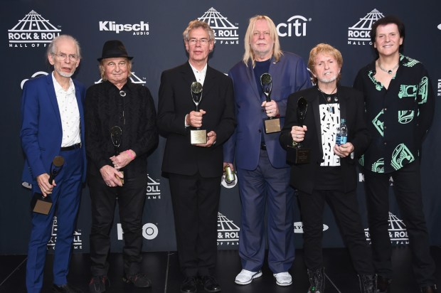 Yes at the Rock & Roll Hall Of Fame Induction Ceremony (Photo: Nicholas Hunt/Getty Images)