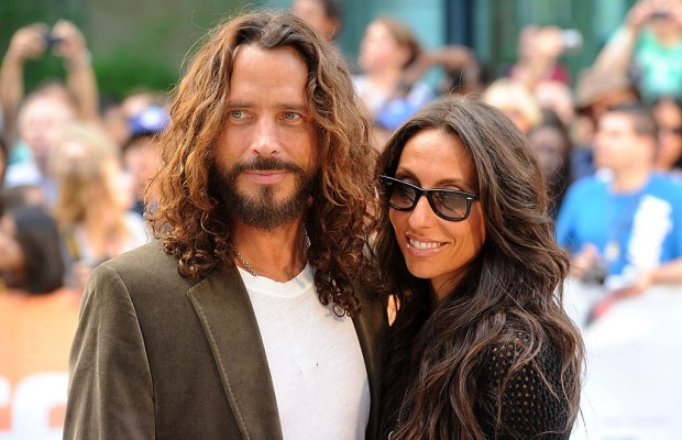 Chris Cornell with wife Vicky