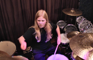 "Watch: 11 Year Old LUKE WRIGHT's Drum Cover of ""The Dance of Eternity"""