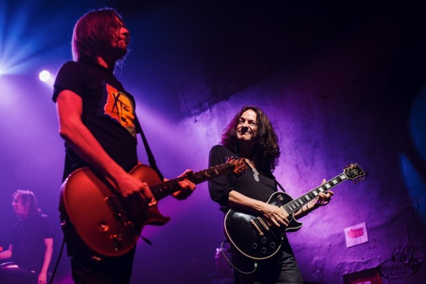 Steven Wilson & Dave Kilminster (Photo:  Nicolás Papa)