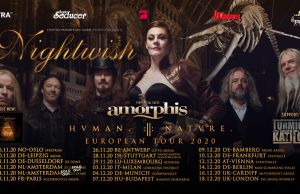 NIGHTWISH Announce AMORPHIS as Special Guests on UK & EU Tour Dates