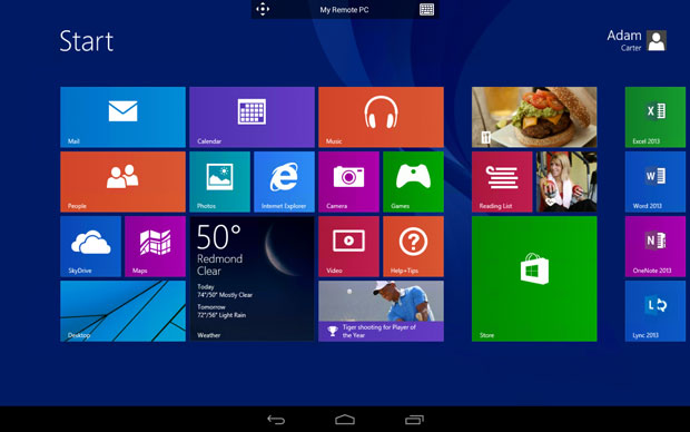 Microsoft Remote Desktop apps for Android and iOS allow